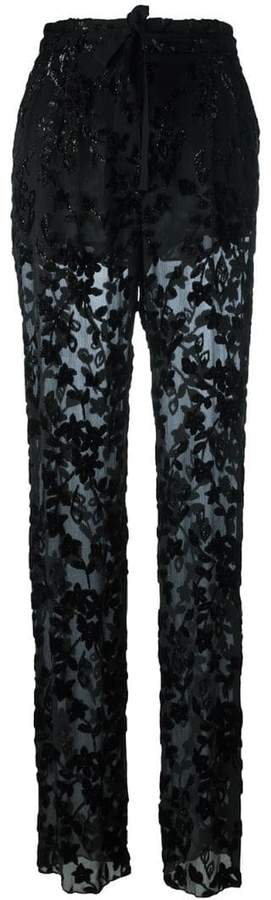Etro sheer trousers