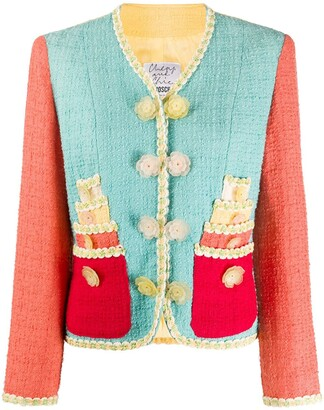 Moschino Pre Owned '1980s Boucle Jacket