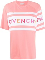 Givenchy embroidered logo oversized T-shirt