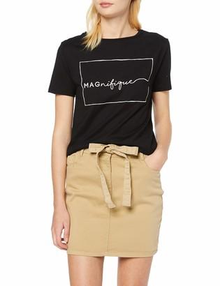 New Look Women's Paperbag Manhattan Skirt