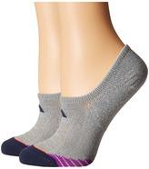 adidas Superlite Speed Mesh Super No Show 2-Pack Women's No Show Socks Shoes