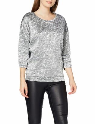 INSIDE Women's 8SFC36& T-Shirt Black (Negro 1) Large