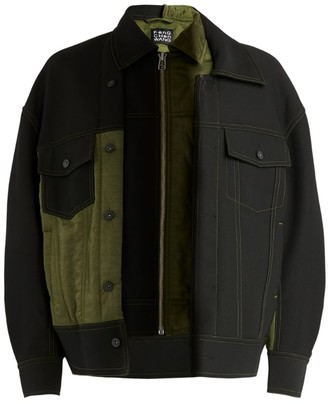 Feng Chen Wang Panelled Contrast Jacket