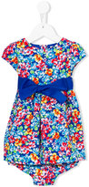 Polo Ralph Lauren floral print dress - kids - Cotton/Polyester - 12 mth