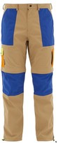 BEIGE 66°North 66North - Kria Colour-block Technical-shell Trousers - Mens