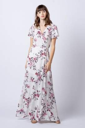 Rokoko Floral Maxi Wrap-Dress