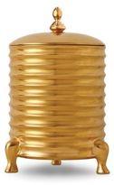 L'OBJET Han Candle & 24k Gold/Porcelain Canister