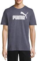 Puma Logo Heather Graphic Tee