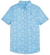 Vineyard Vines Boys' Tuna Batic Button-Down Shirt - Little Kid