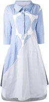 Stella McCartney long pinstripe shirt dress - women - Cotton - 42