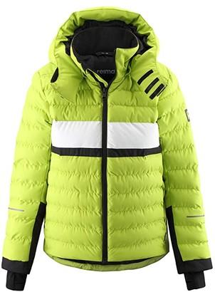 reima Winter Jacket Alkhornet (Toddler/Little Kids/Big Kids) (Lime Green) Boy's Clothing
