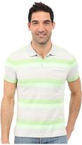 Calvin Klein Classic Fit Cotton Wide Stripe Polo Shirt