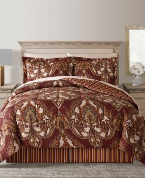 Fairfield Square Collection Odyssey Reversible 8-Pc. Comforter Sets Bedding