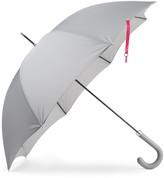 Heating & Plumbing London British City Slim Umbrella Grey & Pink
