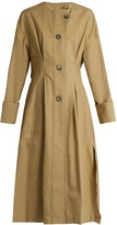 Isabel Marant Slater cotton and linen-blend trench coat