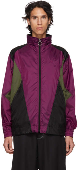 Burberry Purple Hepwood Jacket