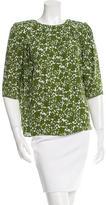 Michael Kors Floral Silk Top