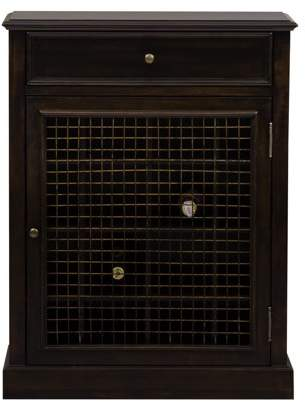 Delacora Wine Cabinet, Dark Wood