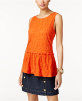 MICHAEL Michael Kors Textured Tank Top