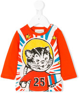 Gucci Kids space cat print T-shirt