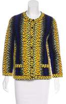 Fendi Intarsia Knit Cardigan w/ Tags
