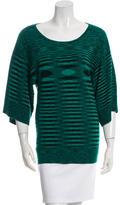 Michael Kors Cashmere Short Sleeve Top