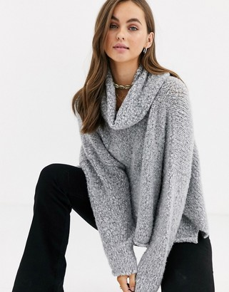 Free People BFF cowl neck jumper