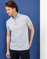Ted Baker Spotted cotton polo shirt