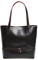 Lodis Audrey Amil Leather Commuter Tote - Black