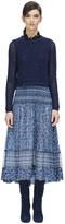 Rebecca Taylor Tangier Paisley Mix Skirt