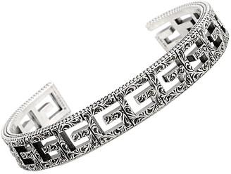 Gucci G Cube Silver G Motif Size 18 Bracelet