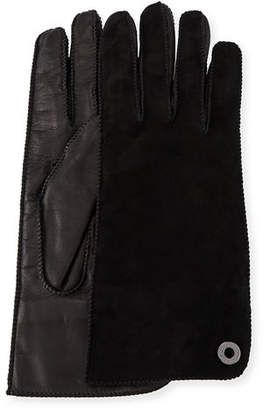 Loro Piana Jacqueline Suede and Leather Gloves