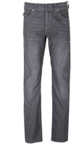 True Religion Ricky Iron Grey Relaxed Straight Corduroy Jeans