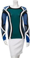 Peter Pilotto Knit Colorblock Sweater