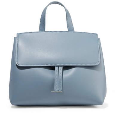 Mansur Gavriel Mini Mini Lady Leather Tote - Light blue