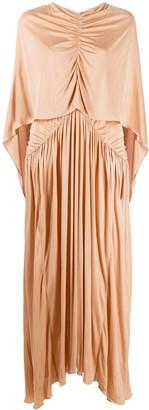 Roksanda Maha cape-overlay maxi dress