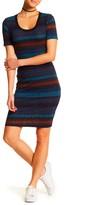 Lush Cutout Sweater Knit Bodycon Dress