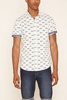 Forever 21 FOREVER 21+ Bicycle Print Shirt