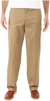 Dockers Iron Free Khaki D3 Classic Fit Flat Front Men's Casual Pants