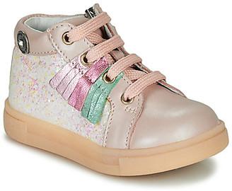Catimini BRITA girls's Shoes (High-top Trainers) in Pink
