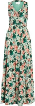 Lost + Wander Island Hopper Floral Maxi Dress