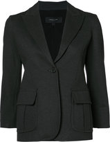 Derek Lam one button blazer - women - Elastodiene/Polyamide/Viscose - 36