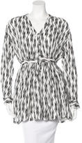 Thakoon Abstract Pattern Long Sleeve Tunic
