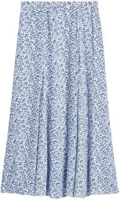 Banana Republic Petite ECOVERO Long Midi Skirt