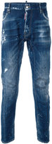 DSQUARED2 distressed skinny jeans - men - Cotton/Spandex/Elastane - 42