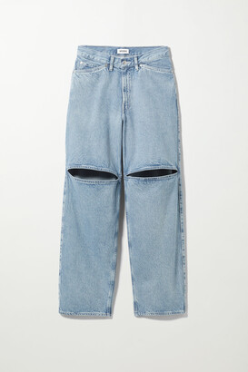 Weekday Brae Worker Jeans - Yellow