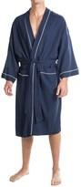 Izod Waffled Kimono Robe - Long Sleeve (For Men and Women)