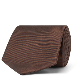 Beams 8cm Silk-Faille Tie