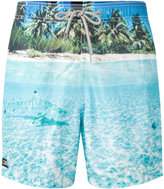 MC2 Saint Barth beach print swim shorts - men - Polyester/Polyamide/Spandex/Elastane - S