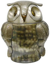 One Kings Lane Vintage 1970s Seymour Mann Owl Ice Bucket - THE QUEENS LANDING - silver/gold/white